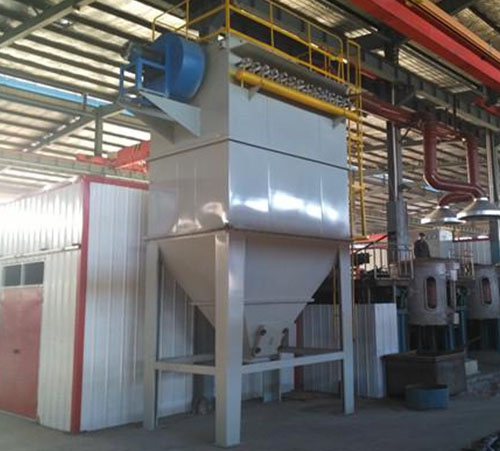 2 ton foundry electric furnace dust collector