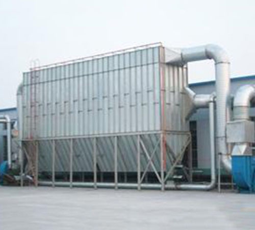 Dust collector of cement plant